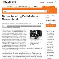 Naturalismen og Det Moderne Gennembrud
