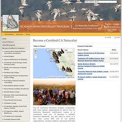 Become a Certified CA Naturalist - California Naturalist