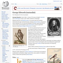 George Edwards (naturalist)