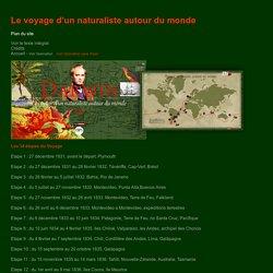 Charles Darwin - Le voyage d'un naturaliste autour du monde - CNRS sagascience - Plan du site