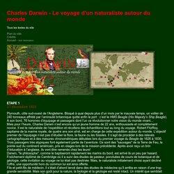 Charles Darwin - Le voyage d'un naturaliste autour du monde- CNRS sagascience - Tous les textes du site