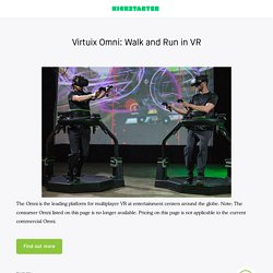 Omni: Move Naturally in Your Favorite Game by Virtuix