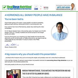 Lose Belly Fat Naturally - RealDose Nutrition