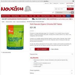 NUA Naturals Organic Chlorella 500 Tablets