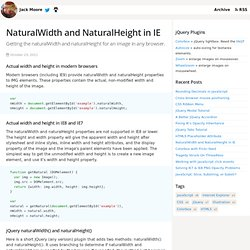 NaturalWidth and NaturalHeight in IE
