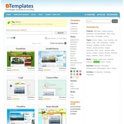 Naturescharm | Blogger Templates