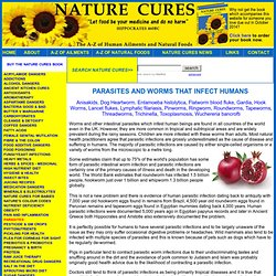 NATURE CURES Parasites and Worms - ADVERT FREE