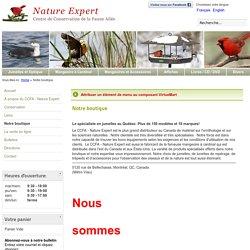 CCFA - Nature Expert - Notre boutique