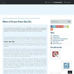 Nature et Pur par France Bien Être - 2BubbleBlog.Com