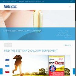 Nature Health Nano Calcium, Calcium Nano