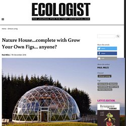 Nature House...complete with Grow Your Own Figs... anyone?
