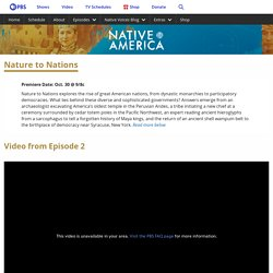 Nature to Nations