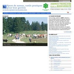 Sports de nature, outils pratiques pour leur gestion