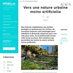 Vers une nature urbaine moins artificielle