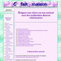 La santé au naturel pour les animaux et chiens et médecines douces vétérinaires