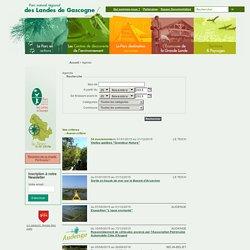 Agenda - Parc naturel régional des Landes de Gascogne