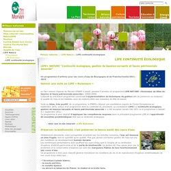 Parc naturel régional du Morvan : Programme Life+