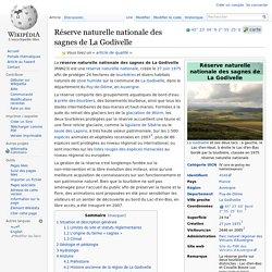 Réserve naturelle nationale des sagnes de La Godivelle