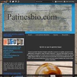résine naturelle - gomme laque -shellac - Patines bio