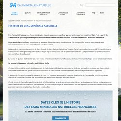Chambre syndicale des Eaux Minerales Naturelles
