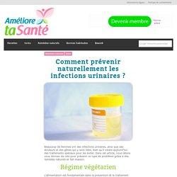 Comment prévenir naturellement les infections urinaires