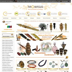 Pierres naturelles semi précieuses et Minéraux du monde - Aromasud