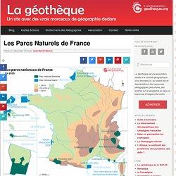Les Parcs Naturels de FranceLa Géothèque