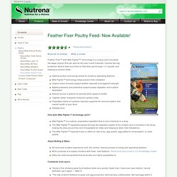 NatureWise Feather Fixer Poultry Feed for Molting
