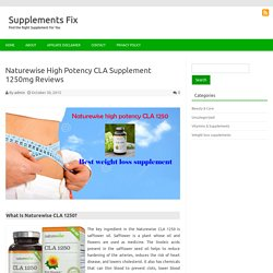 Naturewise High Potency CLA Supplement 1250mg Reviews