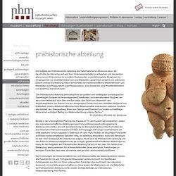 Naturhistorisches Museum Wien - prähistorie