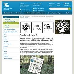 Artbingo - Naturhistoriska riksmuseet