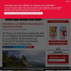 Naturisme : 2,6 millions de pratiquants réguliers en France
