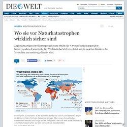 risikoindex 2014 : Wo sie vor Naturkatastrophen wirklich sicher sind - Nachrichten Wissenschaft - Natur & Umwelt