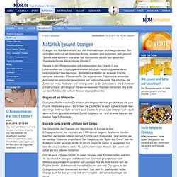 Natürlich gesund: Orangen | NDR.de - Ratgeber - Gesundheit - Ernährung