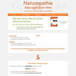 naturopathe et massages à Rennes et Saint Malo en Ille et Vilaine (35)
