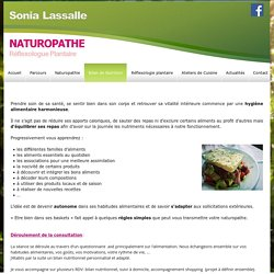 exemple lettre de motivation naturopathe