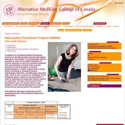 Naturopathic medicine schools Canada