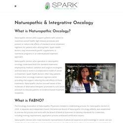 Naturopathic Cancer Treatment San Diego