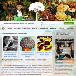 Manger selon la naturopathie : les associations alimentaires