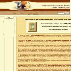 Formations de Naturopathie