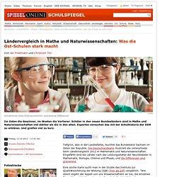Mathe und Naturwissenschaften: Was Ost-Schulen so stark macht