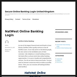 NatWest Online Banking