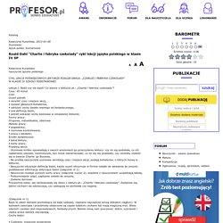 Profesor.pl - publikacje nauczycieli, awans zawodowy, scenariusze lekcji, wypracowania, testy, konspekty, korepetycje, matura, nauczyciele