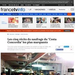"""Les cinq récits du naufrage du """"Costa Concordia"""" les plus marquants"""