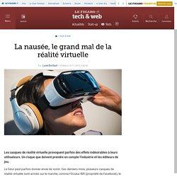 La nausée, le grand mal de la réalité virtuelle