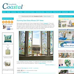 Coastal, Beach + Nautical Decor + Interiors, Driftwood + Shell Decor, Crafts, Art + more