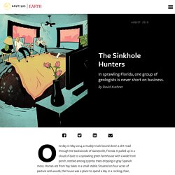 Earth on Nautilus: The Sinkhole Hunters