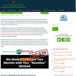 Nautilus Method Software – Sophisticated Sciency Bogus!