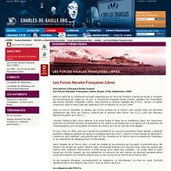 Les Forces Navales Françaises Libres