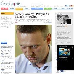Alexej Navalnyj: Partyzán v džungli internetu